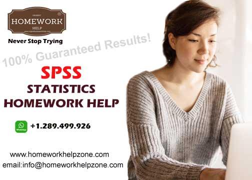 SPSS statistics homework help online